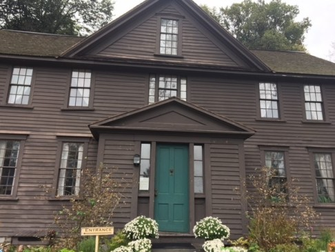 Orchard House, home of Louisa May Alcott and the inspiration for the March family home in Little Women