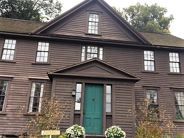 Orchard House in Concord, MA